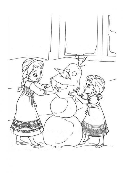 Elza i Anna - kolorowanki do wydruku