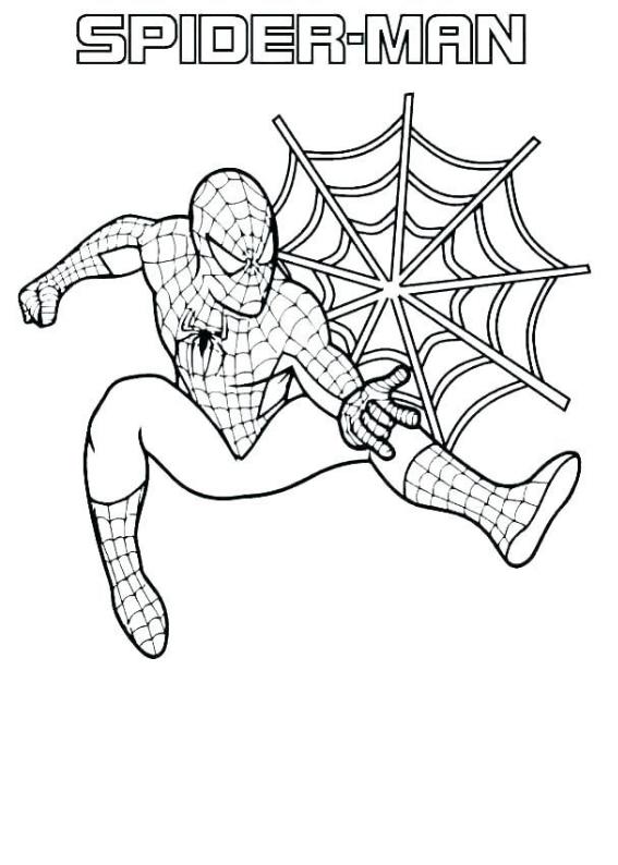 Spiderman 28 Morindia Kolorowanki Do Wydrukowania