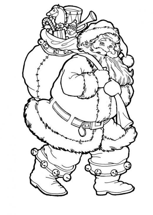 Kolorowanki z okazji Świąt Bożego Narodzenia