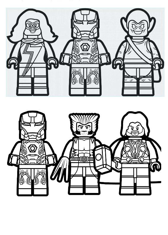 Kolorowanki Lego 8 Morindia Lego Drukuj Kolorowanki