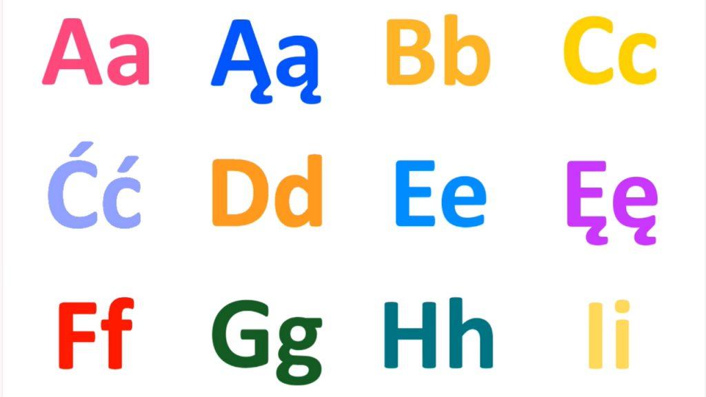 Nauka liter alfabetu - Zabawa