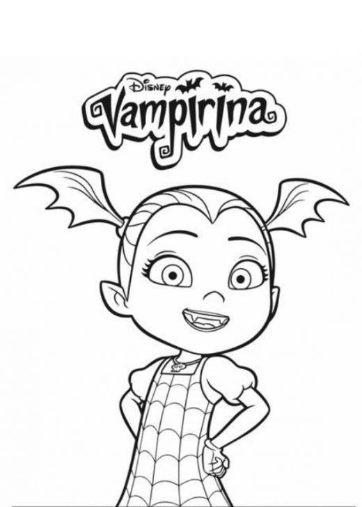 Vampirina kolorowanki do wydruku